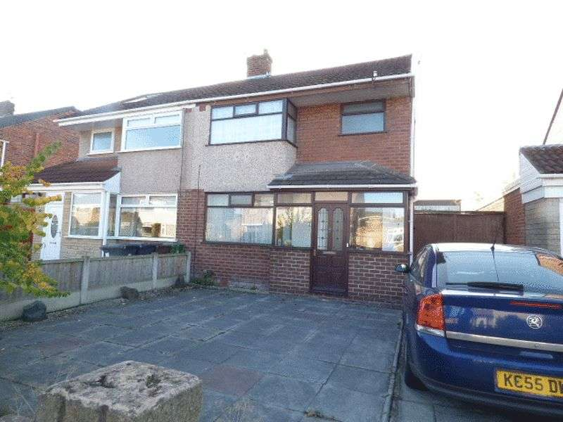 3 Bedrooms Semi Detached House for sale in Hunt Road, Maghull