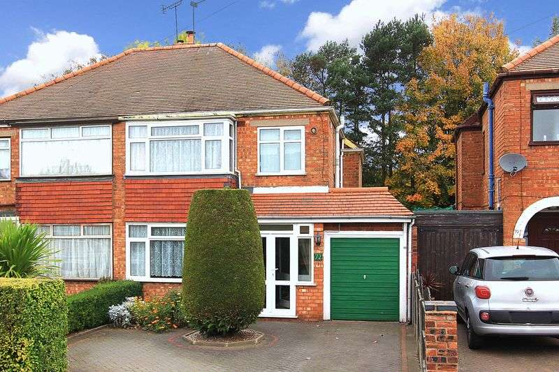 3 Bedrooms Semi Detached House for sale in CLAREGATE, Crossland Crescent