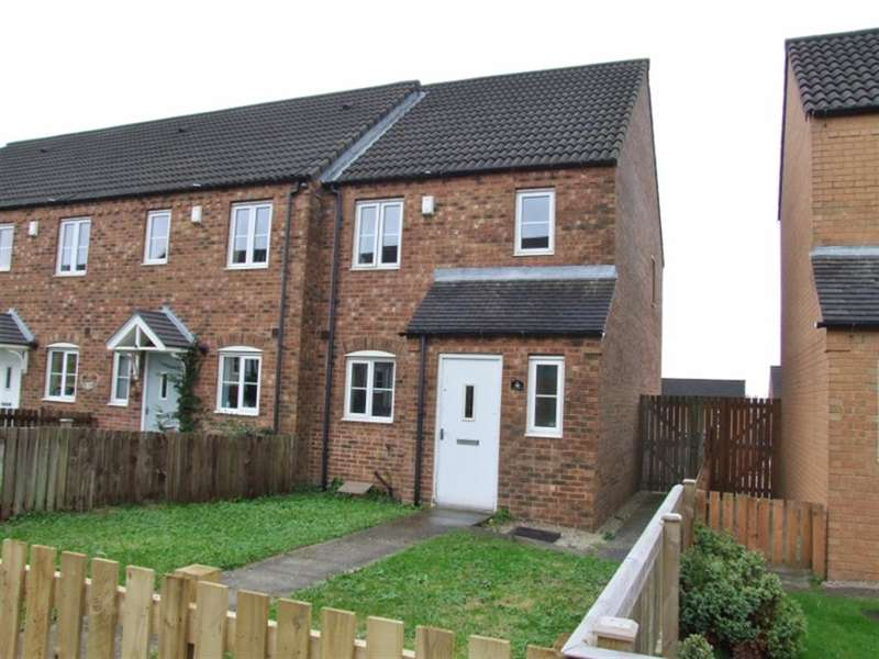 3 Bedrooms End Of Terrace House for sale in Cobblestones Drive, Illingworth, Halifax, HX2 9NG