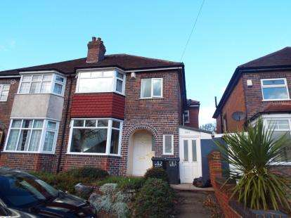 4 Bedrooms Semi Detached House for sale in Shirley Road, Acocks Green, Birmingham, West Midlands