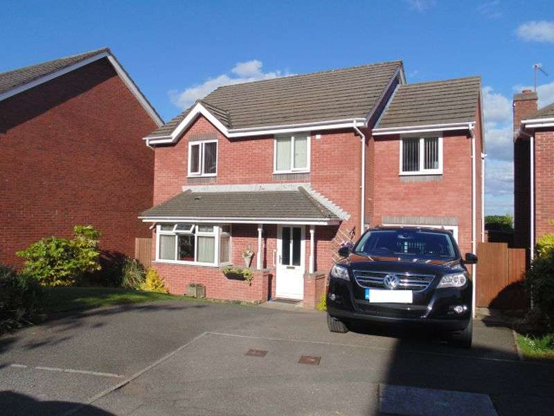 4 Bedrooms Detached House for sale in Hawkes Ridge, Ty Canol, Four Bedrooms