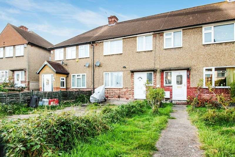 3 Bedrooms Terraced House for sale in Woodcroft Crescent, Uxbridge