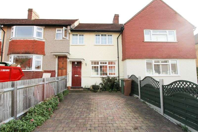 2 Bedrooms Terraced House for sale in Lindsay Road, Worcester Park