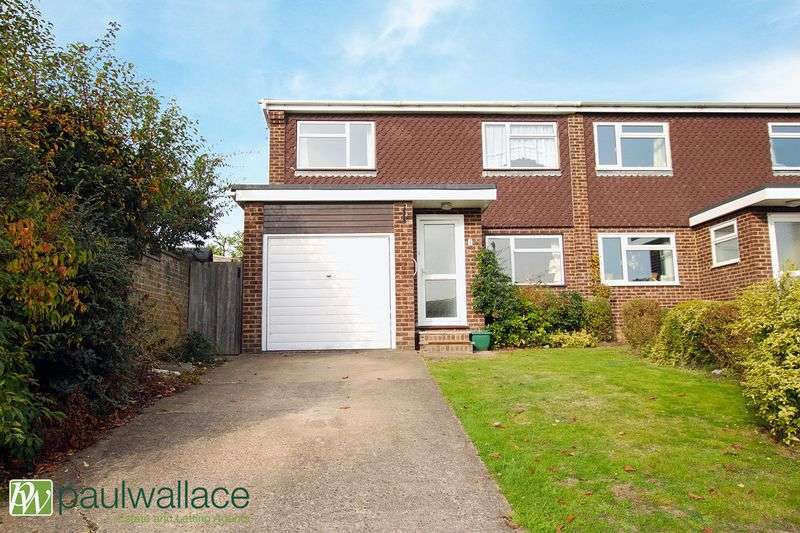 4 Bedrooms Semi Detached House for sale in Dickens Close, West Cheshunt