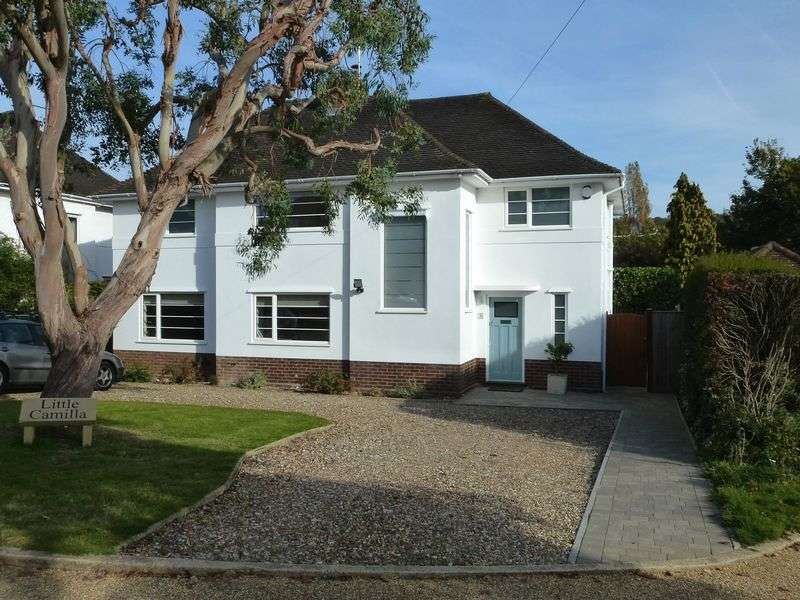 4 Bedrooms Detached House for sale in CONTEMPORARY LIVING IN WESTHUMBLE - WITH VIEWS