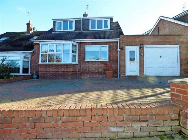 4 Bedrooms Semi Detached House for sale in Grampian Road, Skelton-in-Cleveland, Skelton-in-Cleveland, North Yorkshire