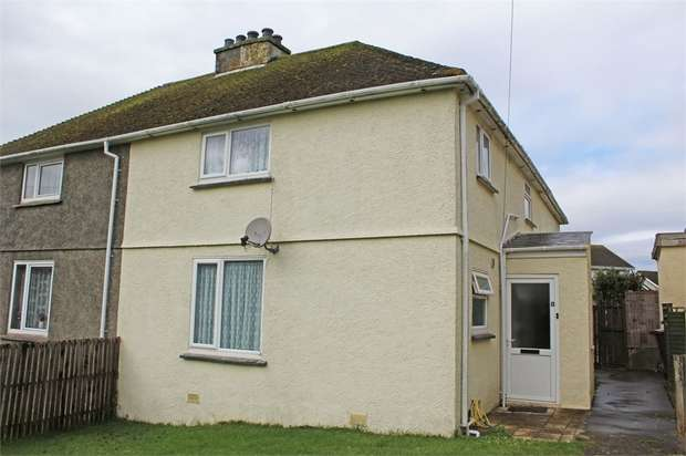 4 Bedrooms Semi Detached House for sale in Insworke Crescent, Millbrook, Torpoint, Cornwall
