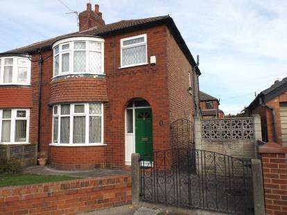 3 Bedrooms Semi Detached House for sale in Royston Avenue, Denton, Manchester, Greater Manchester