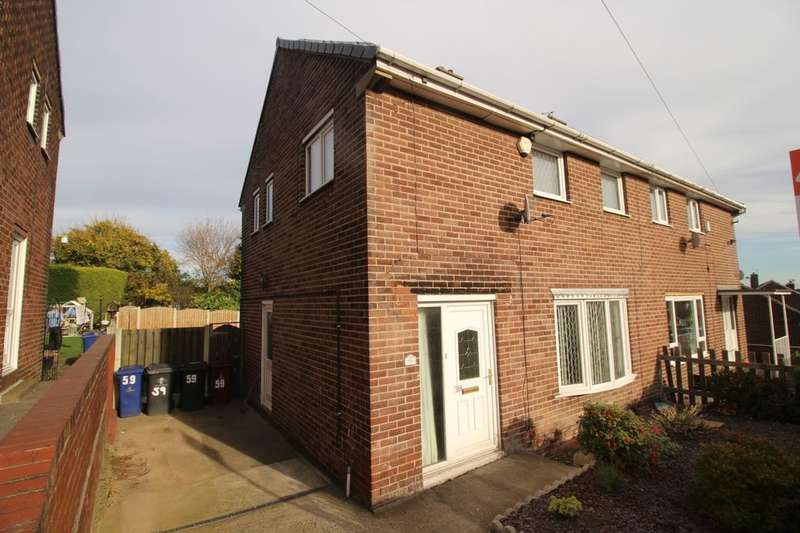 3 Bedrooms Semi Detached House for sale in Swanee Road, Barnsley, S70