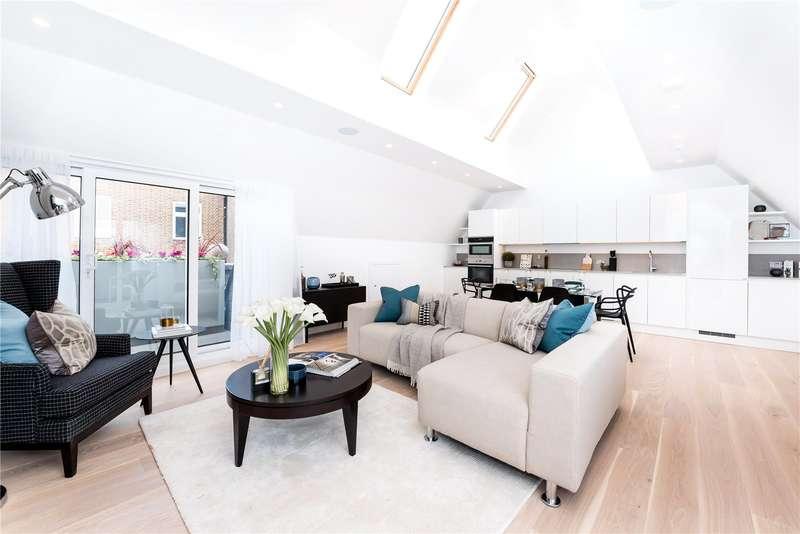 3 Bedrooms Flat for sale in Walpole Court, London, W5