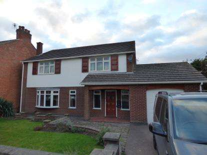 4 Bedrooms Detached House for sale in Huncote Road, Stoney Stanton, Leicester, Leicestershire