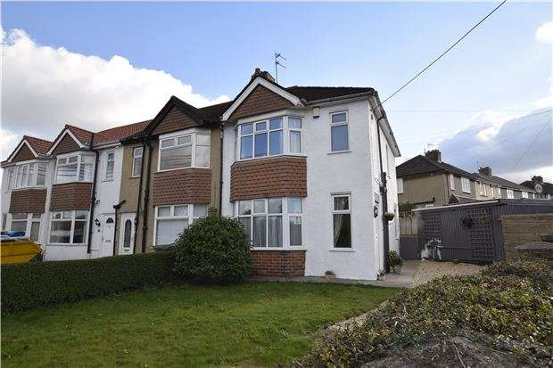 3 Bedrooms End Of Terrace House for sale in Courtney Road, Kingswood, BS15 9RH