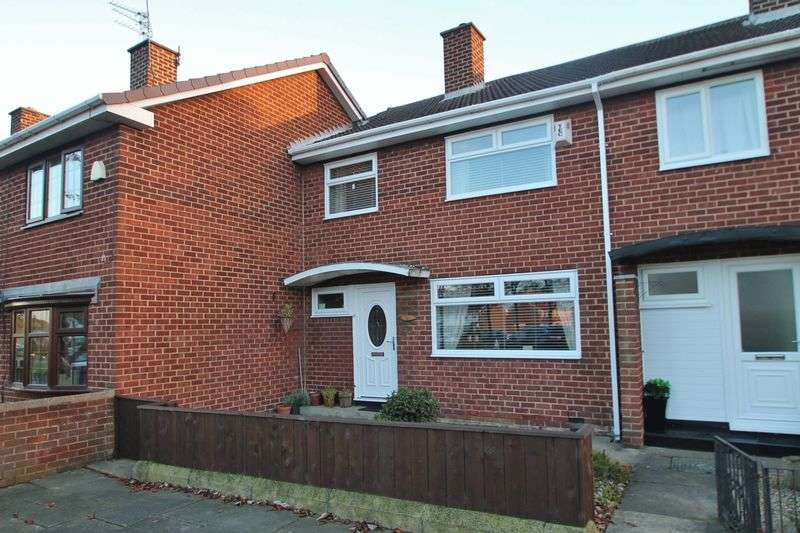 3 Bedrooms Terraced House for sale in Thursby Drive, Ormesby