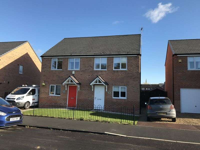 3 Bedrooms Semi Detached House for sale in Oak Street, Jarrow