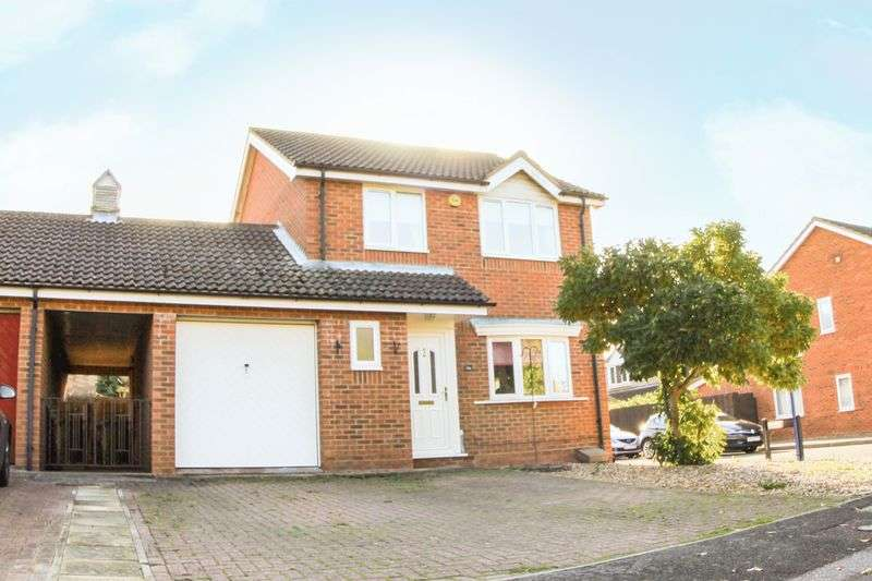 3 Bedrooms Detached House for sale in School Lane, Alconbury, Huntingdon, Cambridgeshire