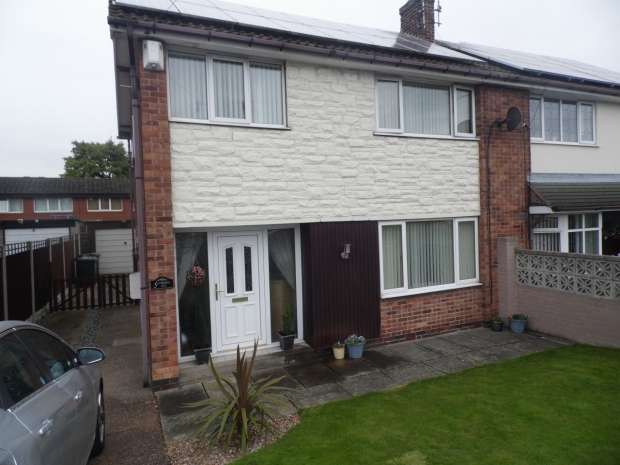 3 Bedrooms Semi Detached House for sale in LUTTERWORTH DRIVE ADWICK LE STREET DONCASTER