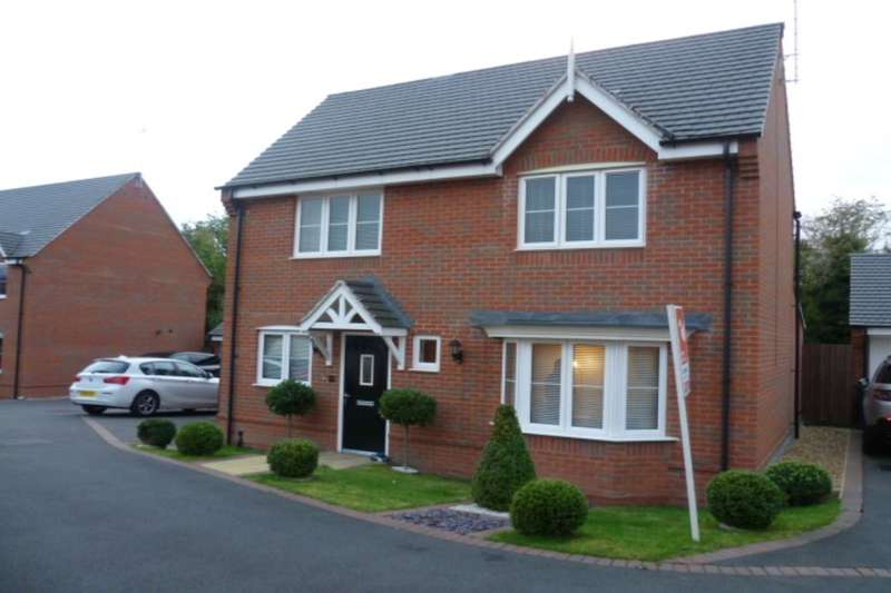 4 Bedrooms Detached House for sale in Ridge End Drive, Burton-On-Trent, DE13