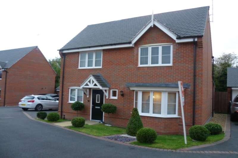 4 Bedrooms Detached House for sale in Ridge End Drive, Burton-On-Trent, DE13
