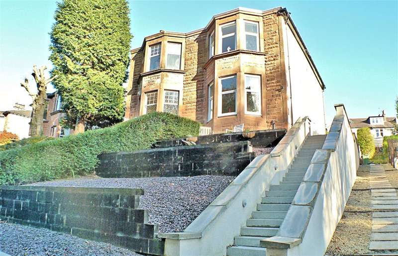 3 Bedrooms Semi Detached House for sale in Florence Drive, Giffnock, GLASGOW