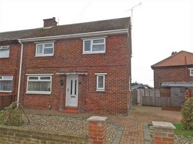 3 Bedrooms End Of Terrace House for sale in Brancepeth Avenue, Middlesbrough, North Yorkshire