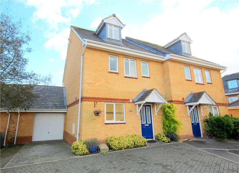 4 Bedrooms Semi Detached House for sale in Doulton Gardens, Lower Parkstone, Poole, Dorset, BH14