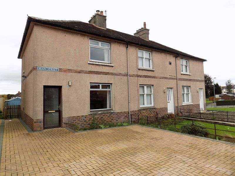 2 Bedrooms Terraced House for sale in Main Street, Larbert