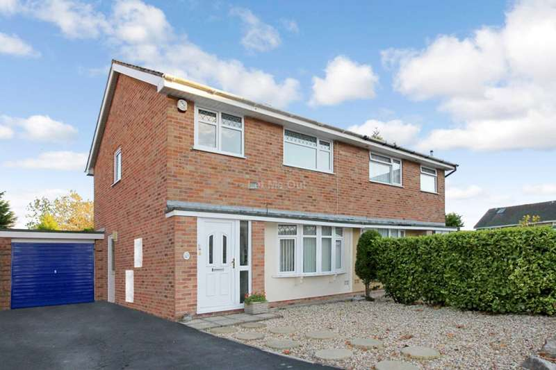 3 Bedrooms Semi Detached House for sale in Constable Drive, Weston-super-Mare