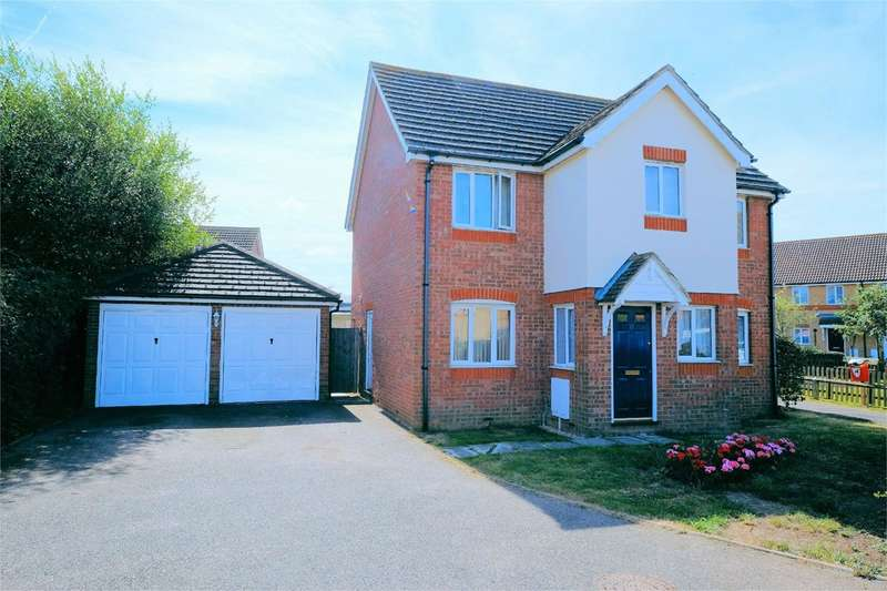 4 Bedrooms Detached House for sale in Columbine Close, Whitstable, CT5