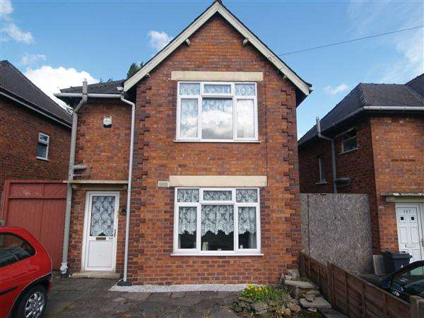 3 Bedrooms Detached House for sale in Victoria Avenue, Walsall