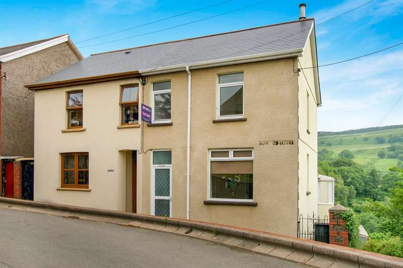 3 Bedrooms Semi Detached House for sale in Church Street, Ynysybwl, Pontypridd