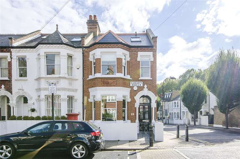 5 Bedrooms Terraced House for sale in Clancarty Road, London, SW6