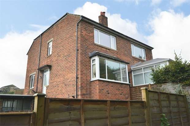 3 Bedrooms Semi Detached House for sale in Deyne Road, Netherton, HUDDERSFIELD, West Yorkshire
