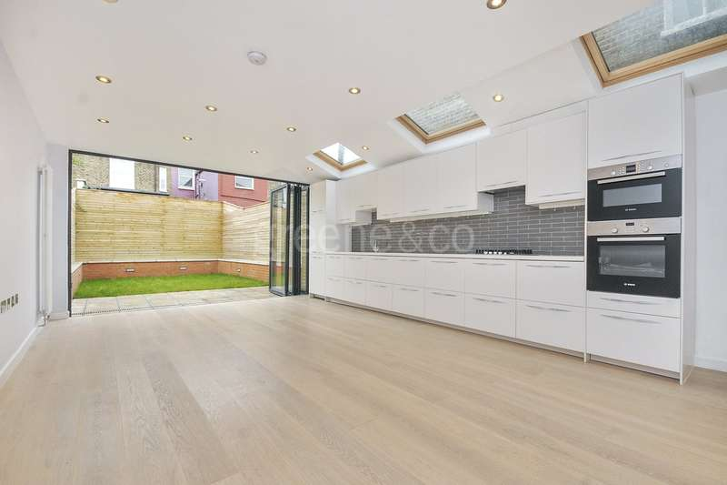 4 Bedrooms Terraced House for sale in Kingsley Road, Queens Park, NW6