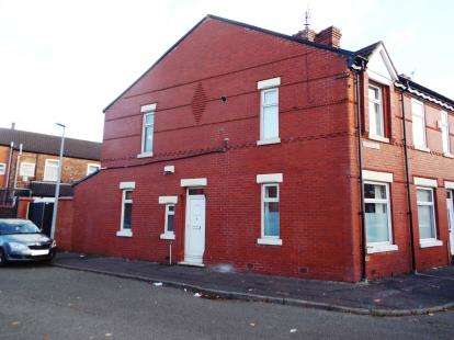 2 Bedrooms End Of Terrace House for sale in Ayrshire Road, Salford, Greater Manchester