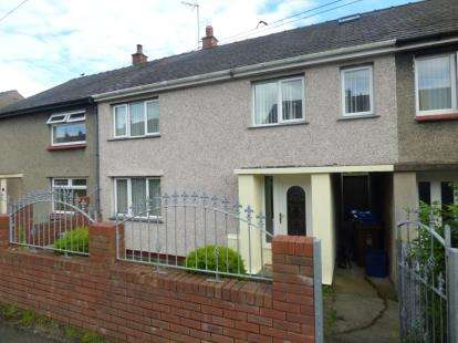4 Bedrooms Terraced House for sale in Queens Avenue, Bangor, Gwynedd, North Wales, LL57