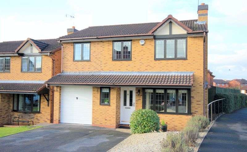 4 Bedrooms Detached House for sale in Thomas Avenue, Stone