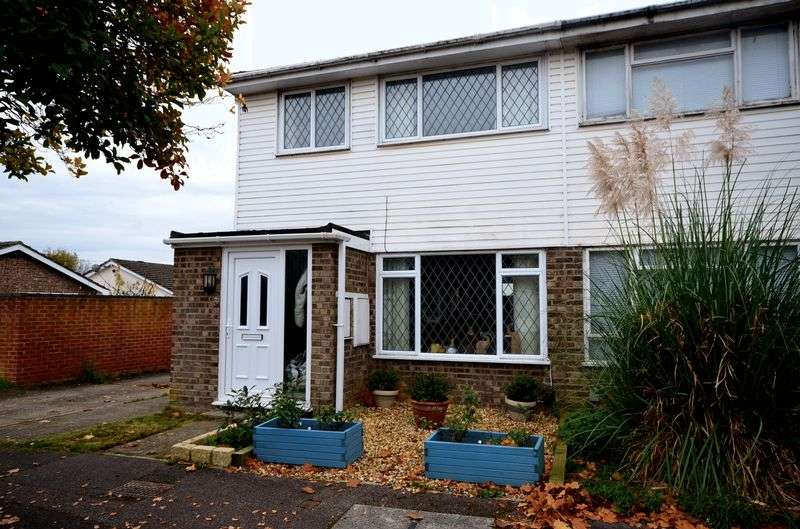 3 Bedrooms Semi Detached House for sale in Modern three bedroom semi-detached family home in a cul-de-sac position, with garage and parking