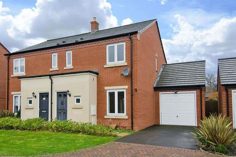 3 Bedrooms Semi Detached House for sale in The Cloisters, Hawksyard, Rugeley