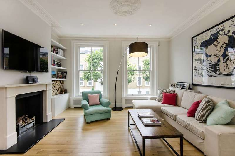 4 Bedrooms Maisonette Flat for sale in Ifield Road, Chelsea, SW10