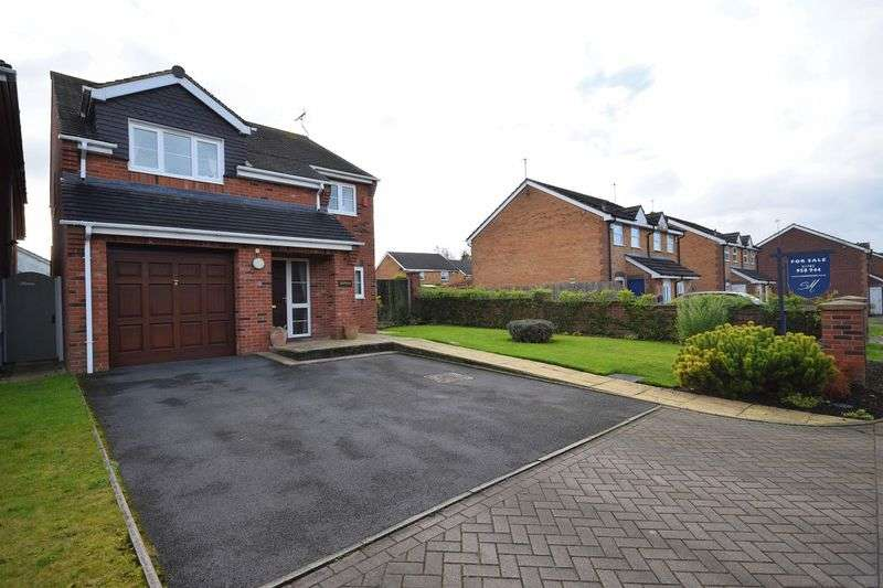 4 Bedrooms Detached House for sale in Irvine Road, Werrington