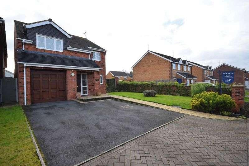 4 Bedrooms Detached House for sale in Irvine Road, Werrington