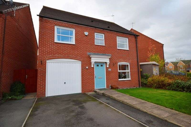 4 Bedrooms Detached House for sale in Blithfield Way, Norton Heights