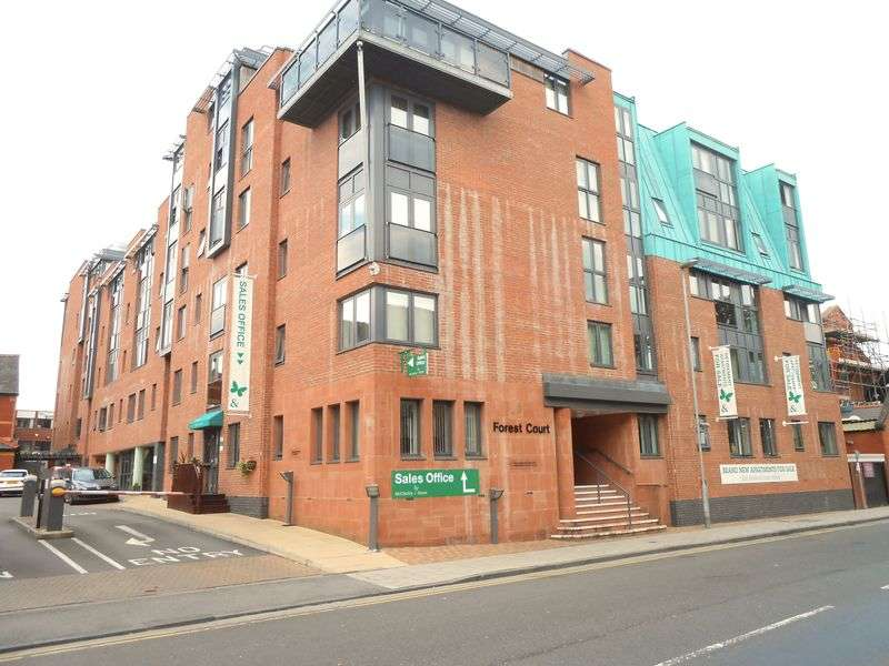 2 Bedrooms Flat for sale in Forest Court Union Street, Chester: NO CHAIN two bed fourth floor retirement apartment