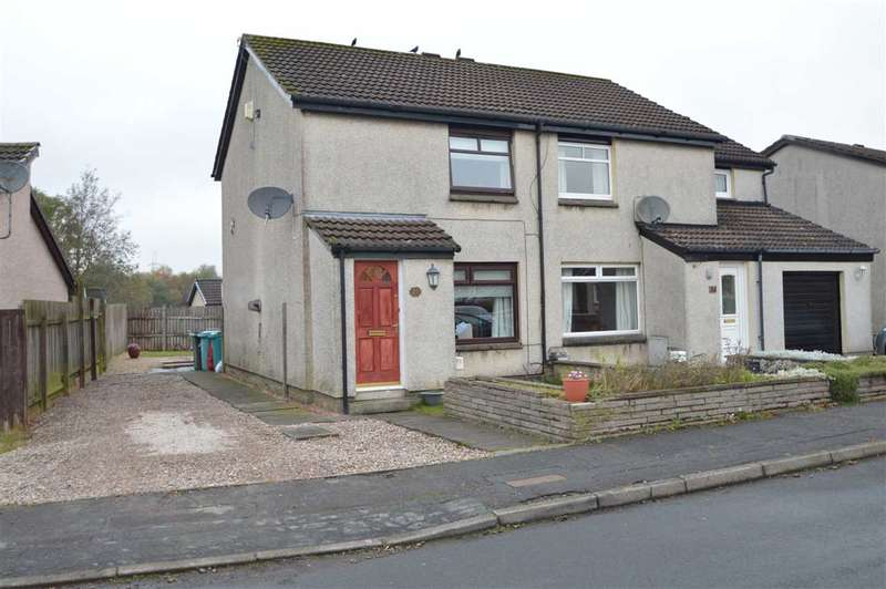2 Bedrooms Semi Detached House for sale in Manse View, Newarthill