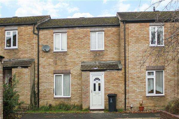 3 Bedrooms Terraced House for sale in Crawford Close, Swindon
