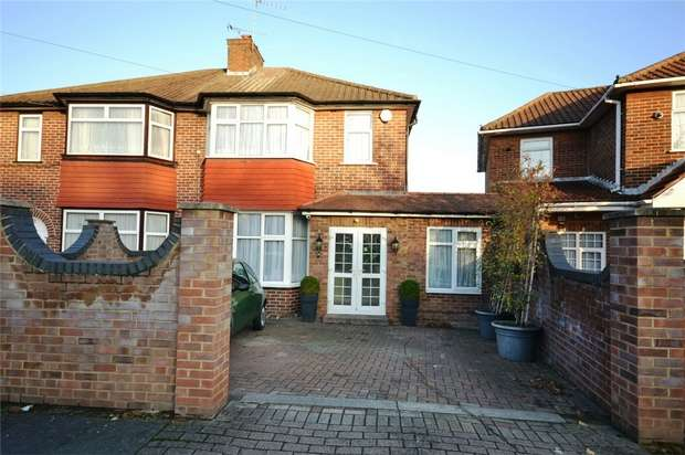 4 Bedrooms Semi Detached House for sale in Greengate, GREENFORD, Middlesex