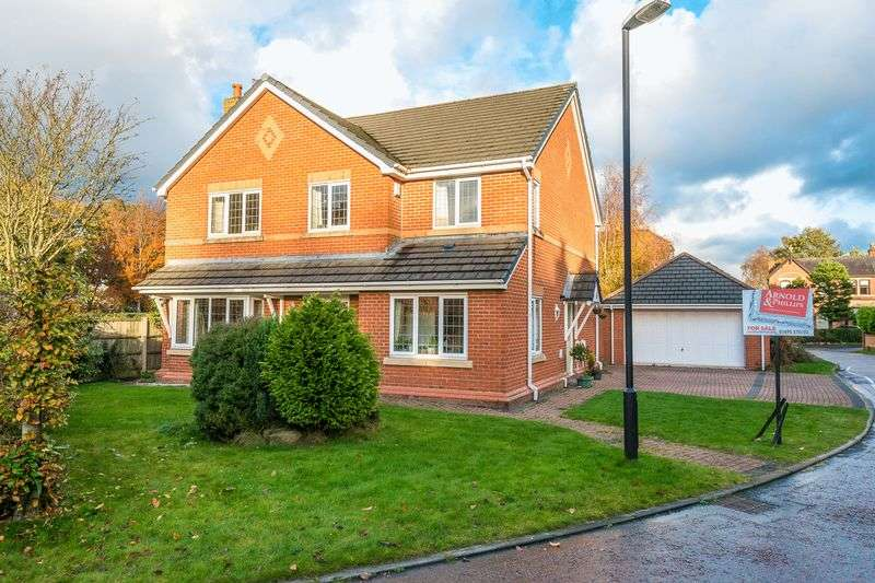 4 Bedrooms Detached House for sale in The Poplars, Burscough