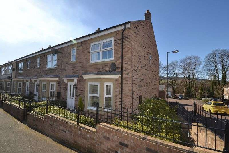 3 Bedrooms Terraced House for sale in Whitton View, Rothbury