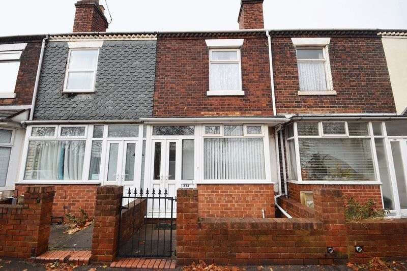 3 Bedrooms Terraced House for sale in Leek Road, Shelton