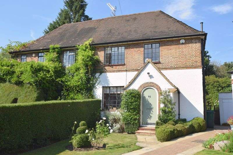4 Bedrooms Semi Detached House for sale in Holyoake Walk, Hampstead Garden Suburb, N2